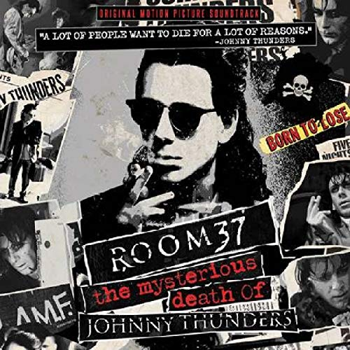 Thunder Vinyl - Room 37: The Mysterious Death Of Johnny Thunders - Only 300 Made Red Color