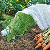 UniEco-0.9oz Floating Row Cover Lightweight Garden Insect Barrier/Sun Screen for Crops 6x100ft