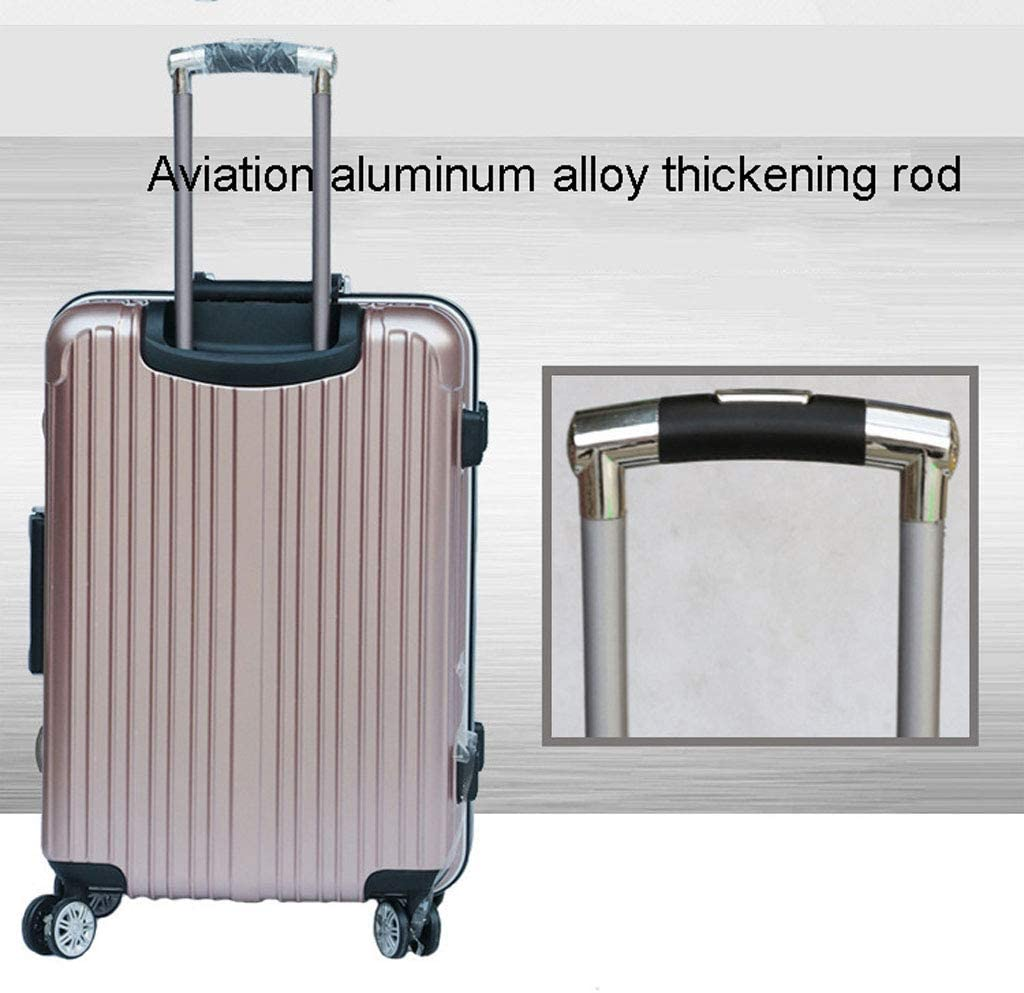 Protective Code Lock Mesurn Universal Wheel Suitcase Solid and Wear-Resistant Aluminum Frame Material Fashion Suitcase Aluminum Alloy Trolley Case