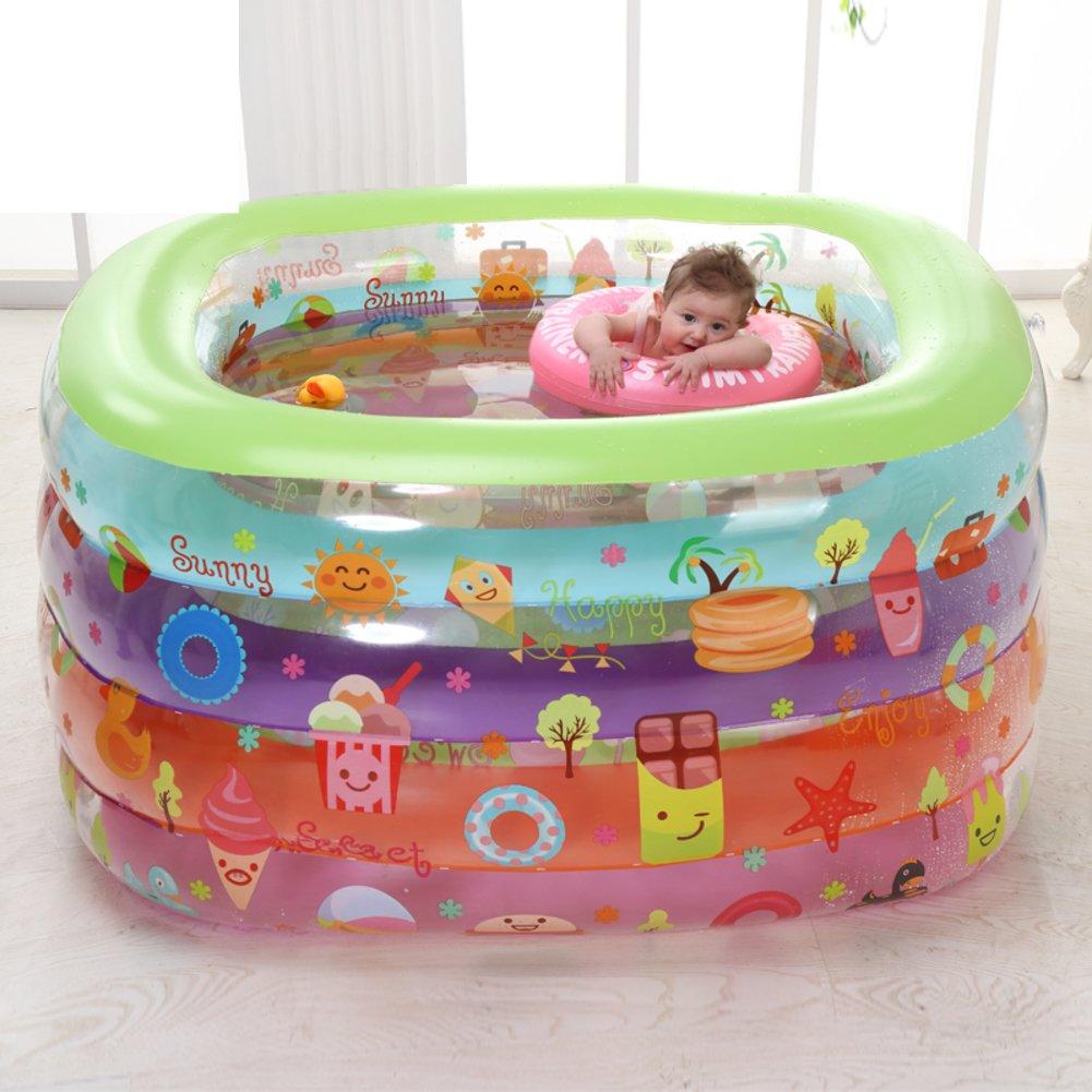 Baby Schwimmbad/Isolierung Baby aufblasbaren Kinderplanschbecken/Baby-Pool/Freizeitbad/Große Swimming Fässer-B