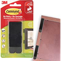 Command 17206BLK Large Picture Hanging Strips, Black 4 Pairs