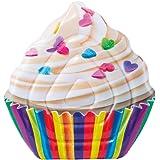 Intex - Materassino Cupcake - Stampa Realistica, 140 x 150 cm, 58770