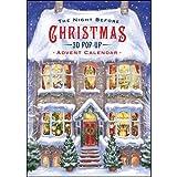 The Night Before Christmas 3D Pop-Up Advent Calendar