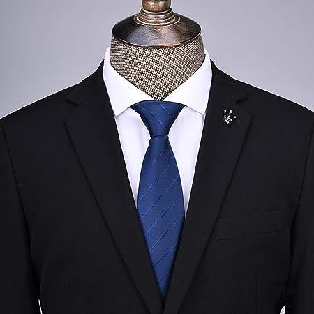 YiCan Corbata Negra Corbata Formal Formal For Hombres/Overol Camisa Profesional Corbata Roja A Rayas For Estudiantes / 145 * 8 Cm/Buen Material.Alta Calidad (Color : Blue): Amazon.es: Hogar
