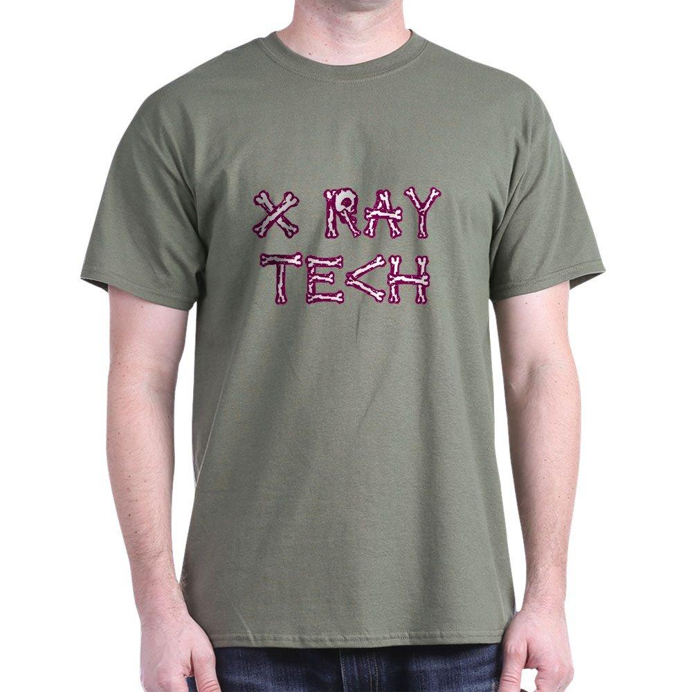 6a2b9ef9 Amazon.com: CafePress X-Ray Tech 100% Cotton T-Shirt Military Green:  Clothing