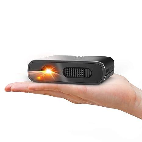 Amazon.com: Artlii - Mini proyector portátil DLP con batería ...