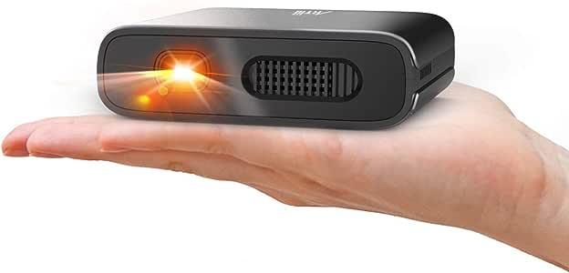 Amazon.com: Mini proyector, proyector portátil DLP Artlii ...