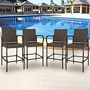 61QlmtaJX2L._SS300_ Wicker Dining Chairs & Rattan Dining Chairs