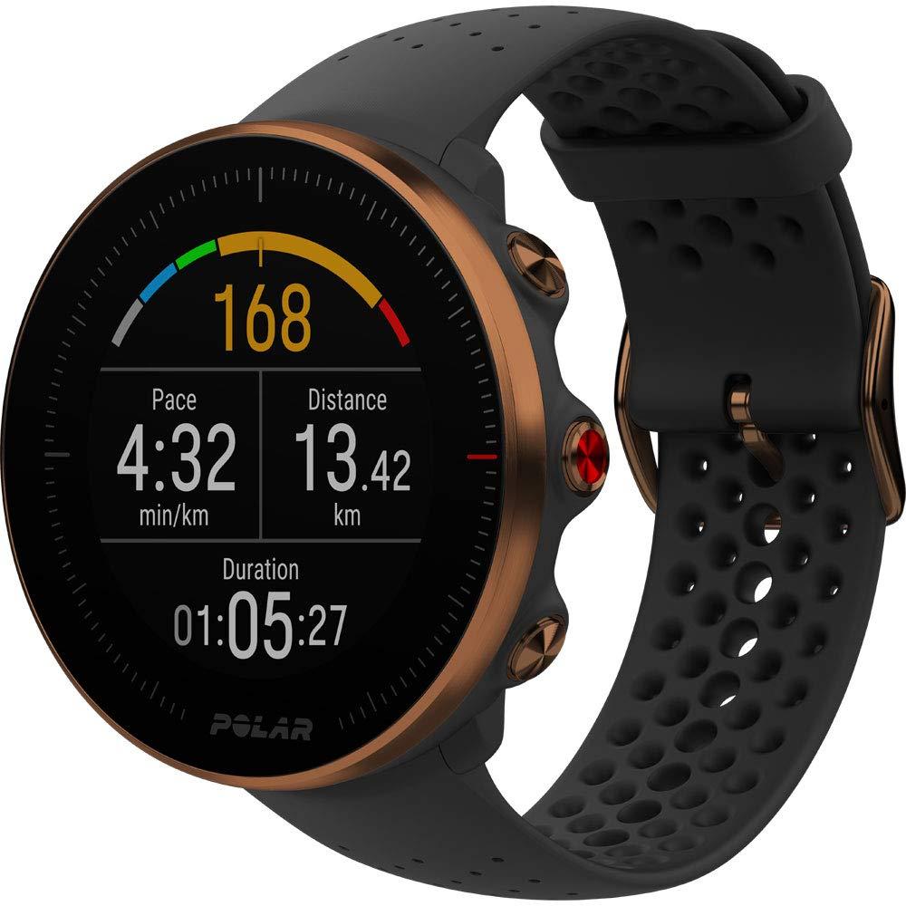 Polar 90080198 Vantage M Multi Sport GPS Heart Rate Watch - Black/Copper (M/L) by Polar