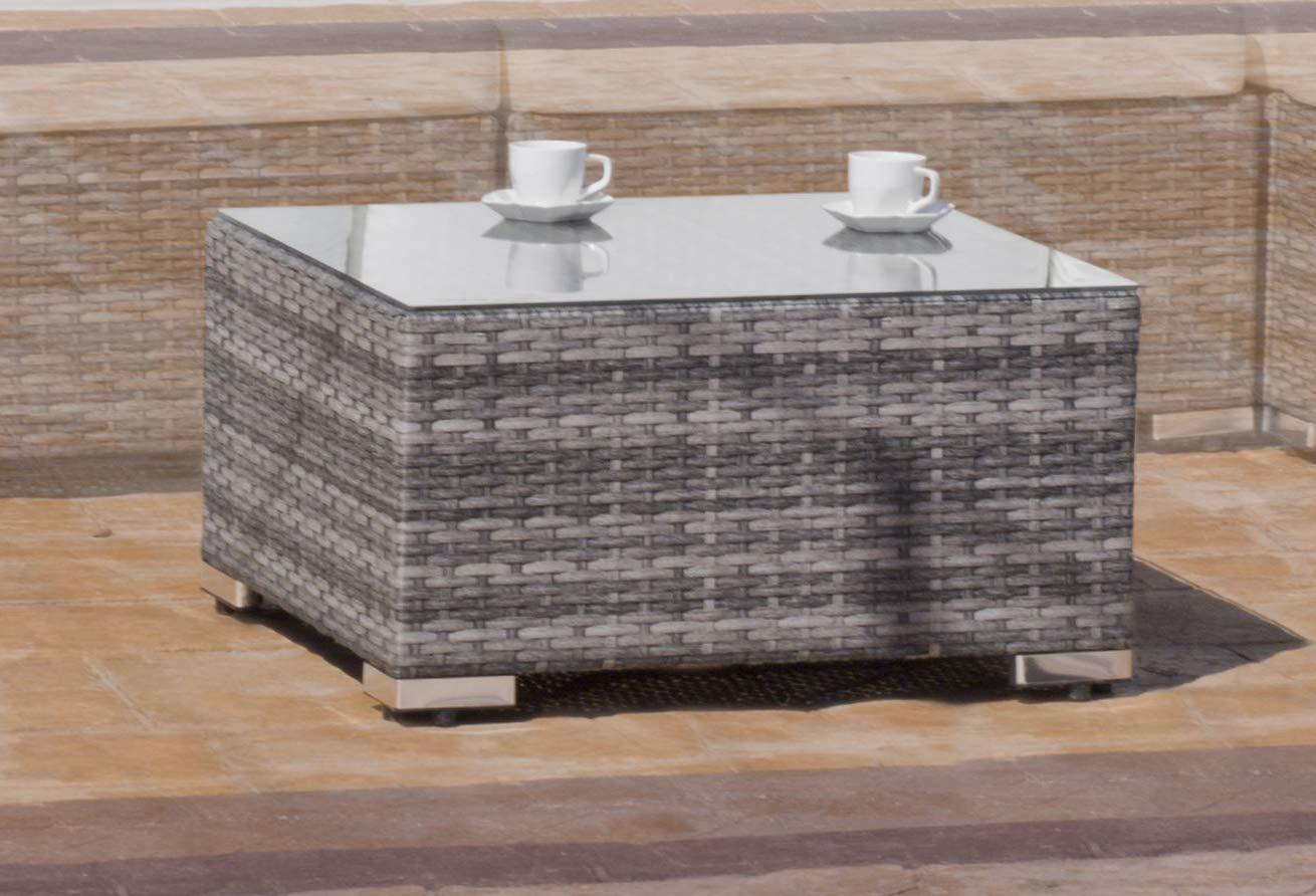 Hevea Mesa Centro 65 Nigoro Gris Exterior