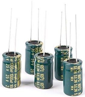 NTE Electronics VHT10000M16 Series VHT Aluminum Electrolytic Capacitor 20/% Tolerance 105 Degree Max Temp 10000 /µF Capacitance Radial Lead 16V