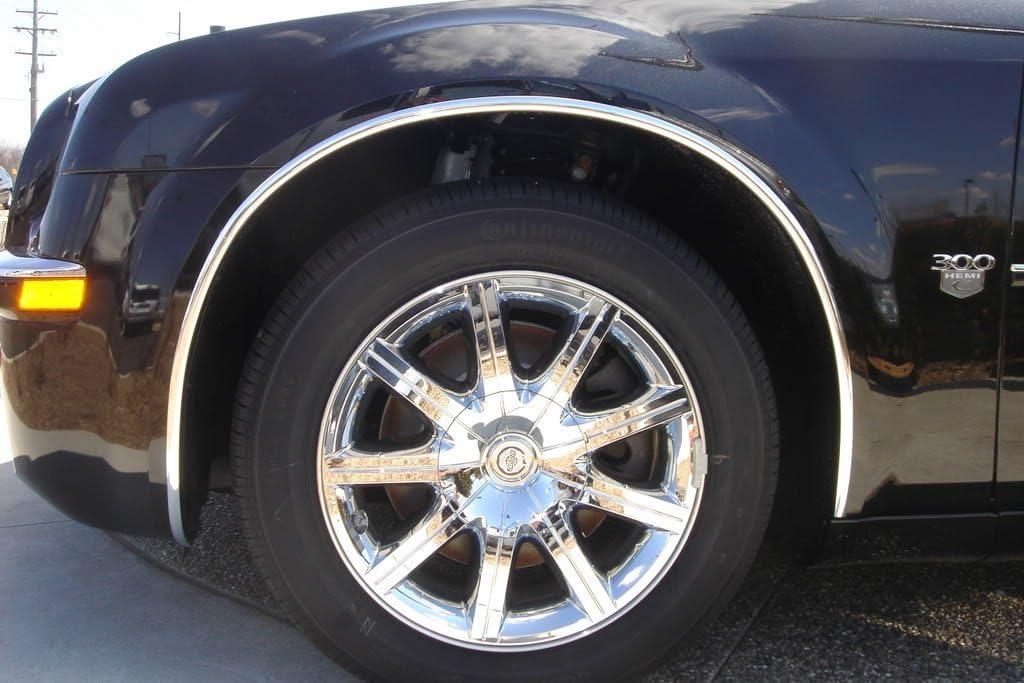 "3M  5//8/"" x 100/' Universal Chrome Wheel Well Molding Trim Body shop."