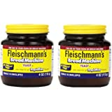 Fleischmann's Yeast for Bread Machines, 4-ounce Jars, (Pack of 2)