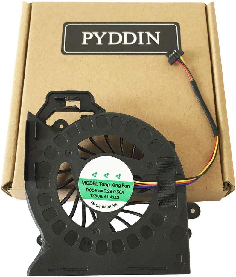 PYDDIN Laptop CPU Cooling Fan Cooler for HP Pavilion DV6-6000 DV6-6100 DV6-6b00 DV6-6c00 DV6T-6000 DV6-6xxx DV7-6000