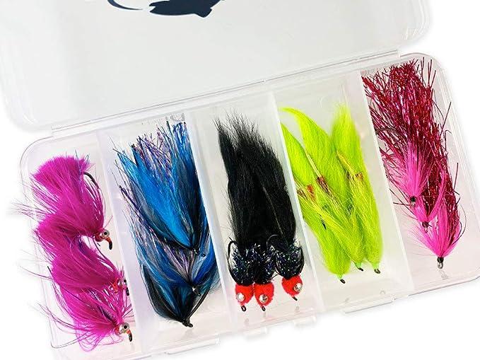 Free Box Cormorants Trout Fishing Flies Selections Lure Assortment /&