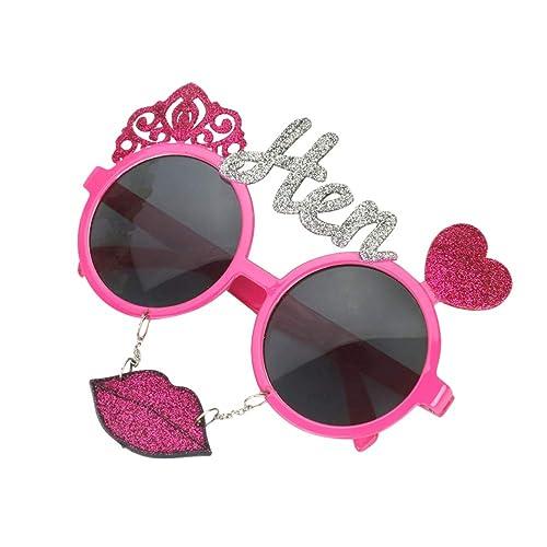 Amosfun Gafas de Sol para Mujer Gafas de Sol con Lentes de ...