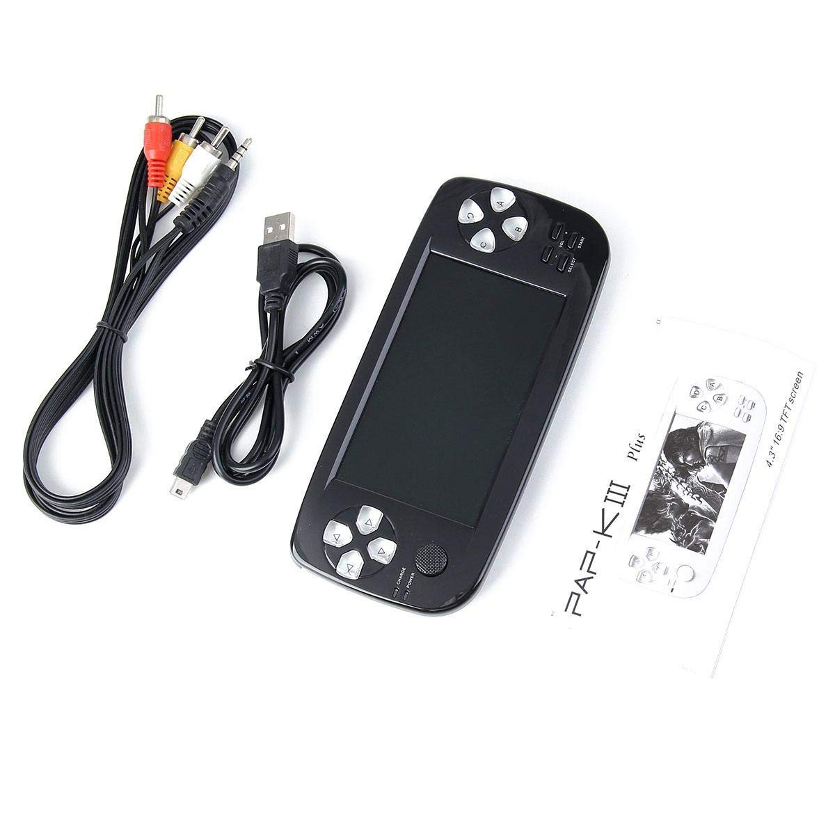 Handheld Game Console, Classic Game Case, Pocket Game Console 3000 Games - Support for Downloading Multi Format Games for Classic Game Fans by Womdee (Image #5)
