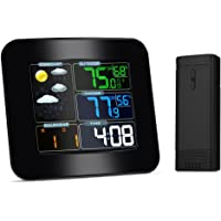 iLifeSmart Station Météo, TS-75 Hygrometre sans Fil Thermometre Humidite Intérieur Extérieur avec LCD Ecran Grand