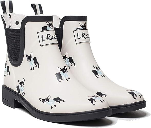 L-Rain LR Women's Short Rain Boots