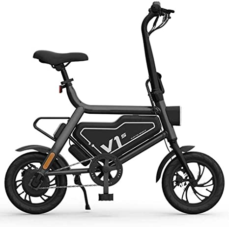 Bicicleta Eléctrica Plegable, 12 Pulgadas De Asistencia Eléctrica ...