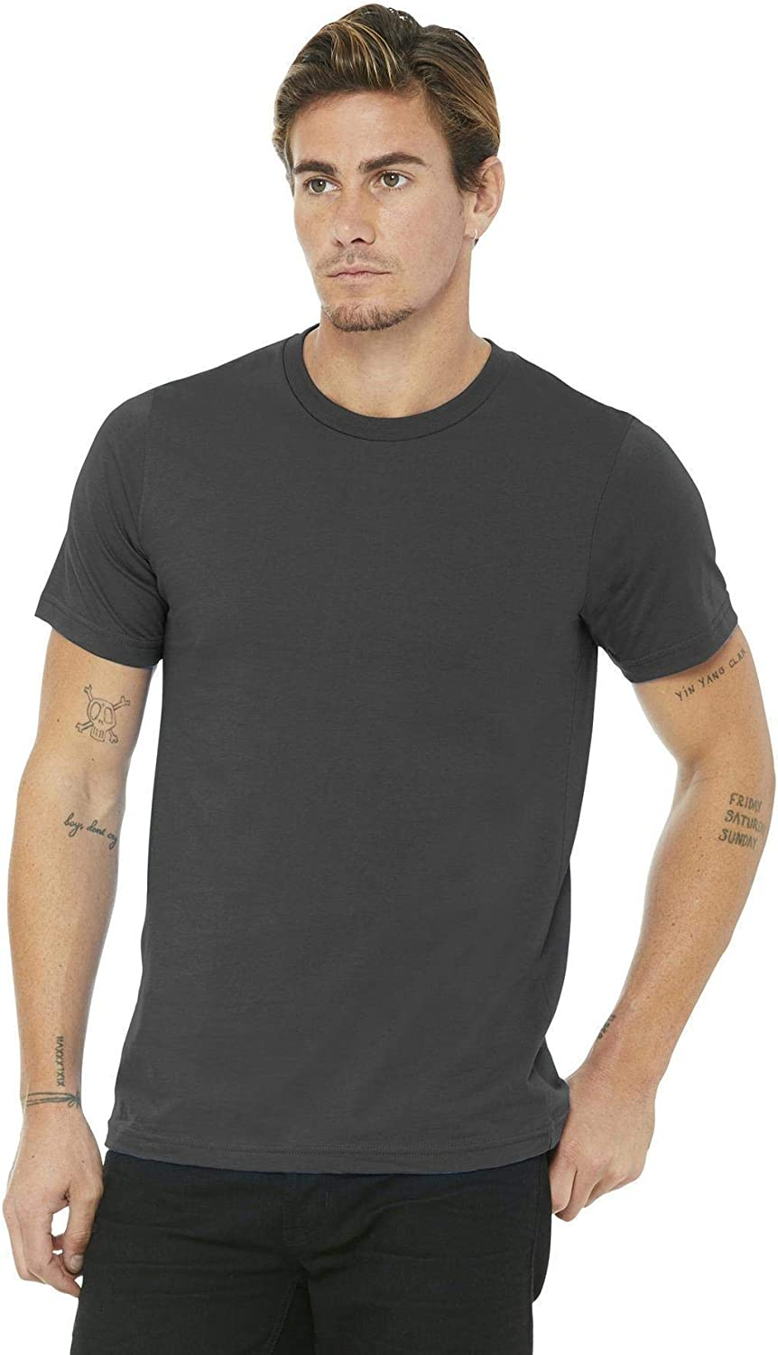 3001U Bella + Canvas Unisex Made in the USA Jersey Short-Sleeve T-Shirt