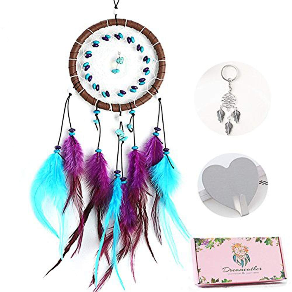 eZAKKA Handmade Dream Catcher with Beautiful Packaging Gift for Kids Bedroom Home Wall Decor
