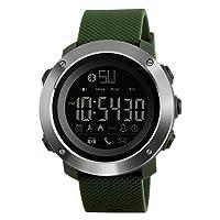 Skmei Smart Watches - Reloj de pulsera con Bluetooth resistente al agua, recordatorio de llamadas, cámara remota