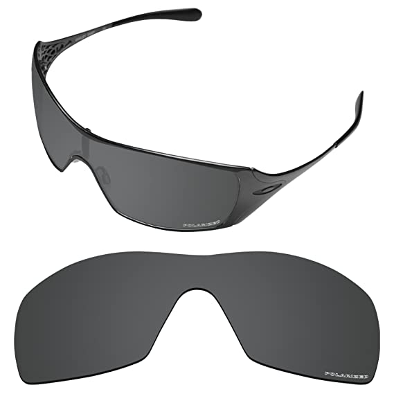 353f5809a9a Amazon.com  Tintart Performance Lenses Compatible with Oakley Dart  Polarized Etched-Carbon Black  Clothing