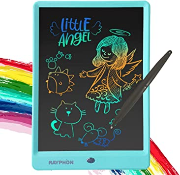 School,Office Electronic Graphics Tablet Creative 9 Inches Cartoon LCD Electronic Tablet Childrens Drawing Board Writing Graffiti Blackboard for Kids and Adults for Home