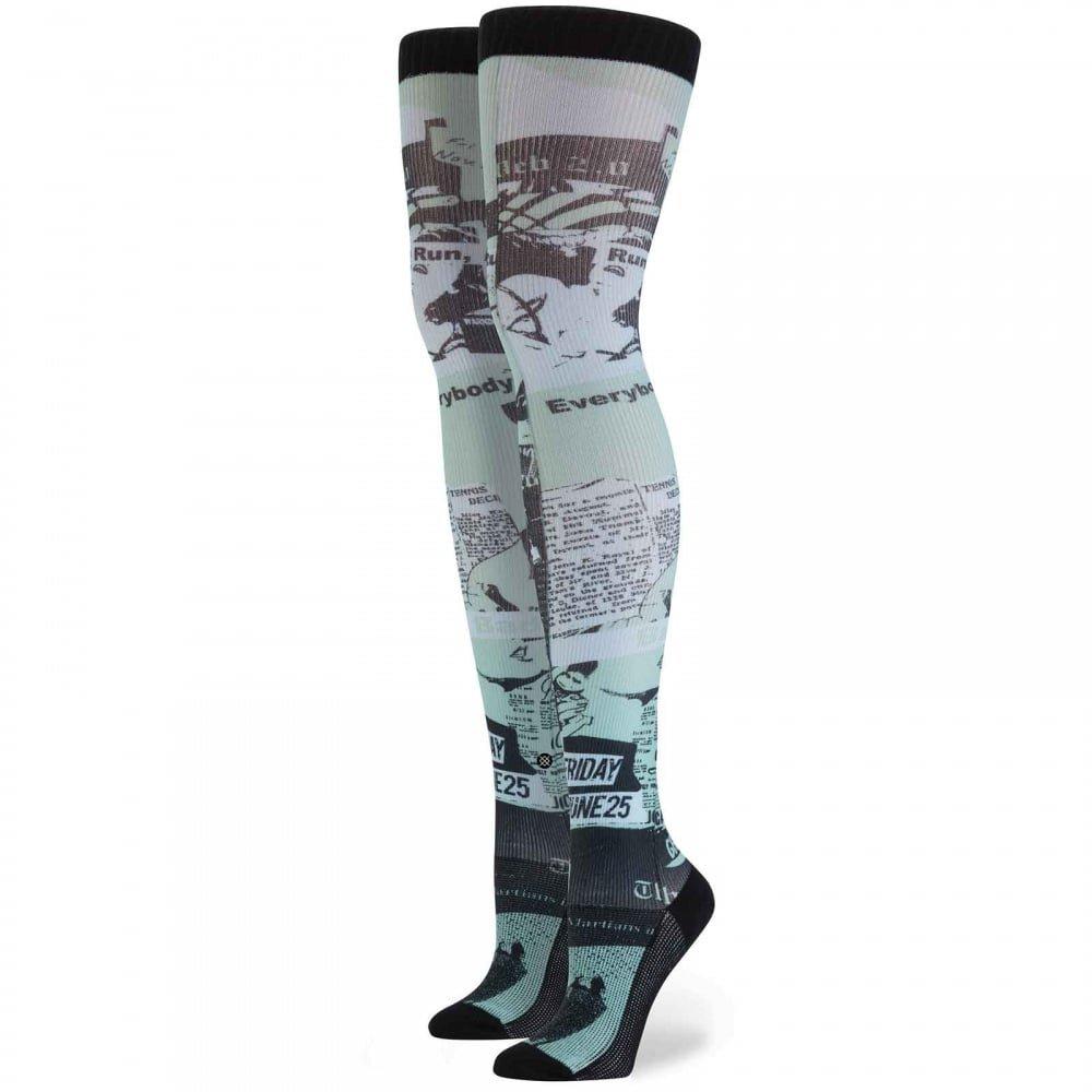 Stance - Calcetines hasta la rodilla - para mujer Verde verde menta Talla única: Amazon.es: Ropa y accesorios