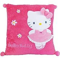 Hello Kitty - Cojín Bailarina, Color Rosa (Giros