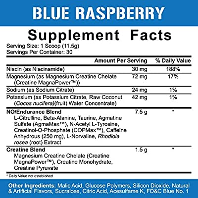 Rich Piana 5% Nutrition Kill IT Pre Workout (Blue Raspberry) 11.11oz (315g)  30 Servings: Amazon.sg: Health & Personal Care