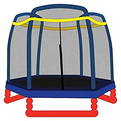 SkyBound Replacement Trampoline Net and Little Tikes 7 Foot Trampolines: Toys & Games