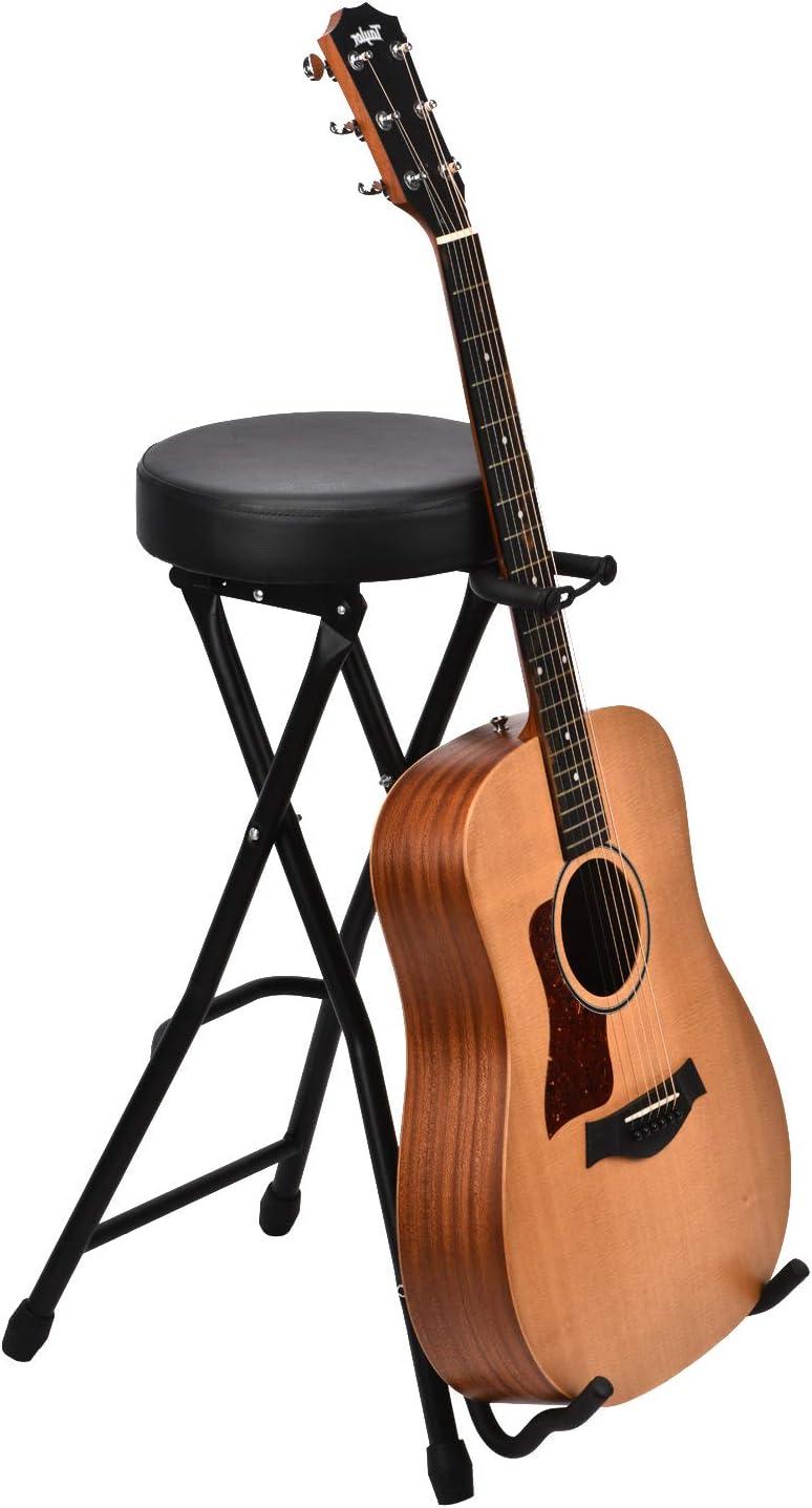 Feibrand Taburete Guitarra Silla Guitarrista Guitar Stool Plegabl ...