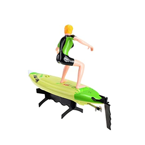 2.4 GHz Bateau RC Surfer avec télécommande au volant, bateau, hors-bord, Speed Bateau Modèle de Construction, Ready to Run, Top Speed avec batterie, ...