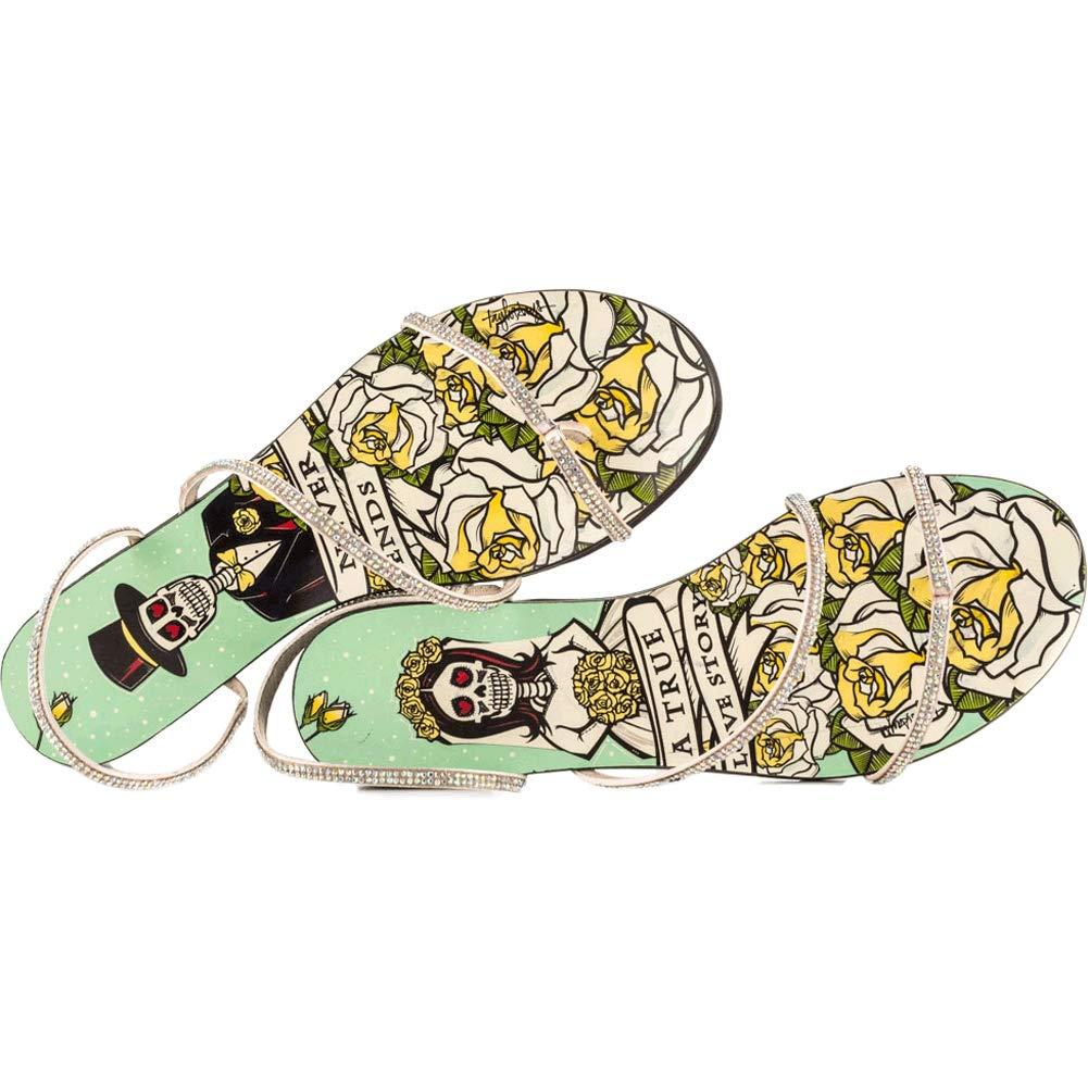 Amazon.com: taylorsays Mujer elogio sandalias, Verde, 8.5 B ...