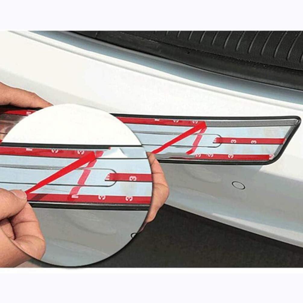 Auto Acciaio Inox Davanzale Protezione Paraurti Posteriore Multivan 2016 2017 2018 Rear Bumper Battitacco Guard Pedals Kick Plate per Volkswagen VW Transporter T6 Caravelle Car Styling Accessori