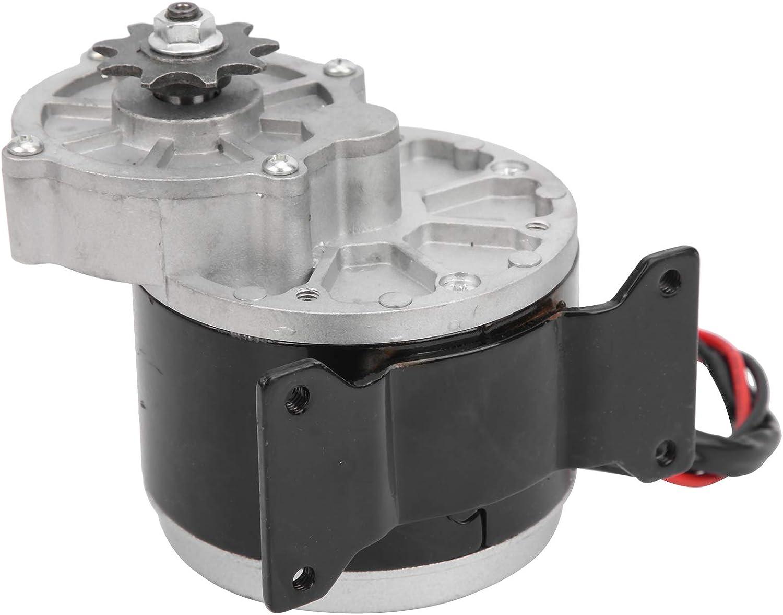 T opiky Controlador de Velocidad, Motor eléctrico silencioso de 12V 250W DC Motor de Engranaje eléctrico de 250W para Bicicleta eléctrica