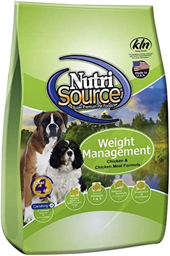 Tuffy S Pet Food 131530 Nutrisource Weight Management Dog Food