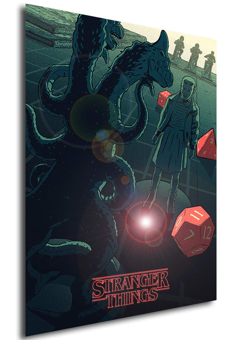 Instabuy Posters Stranger Things (L) - A3 (42x30 cm): Amazon ...