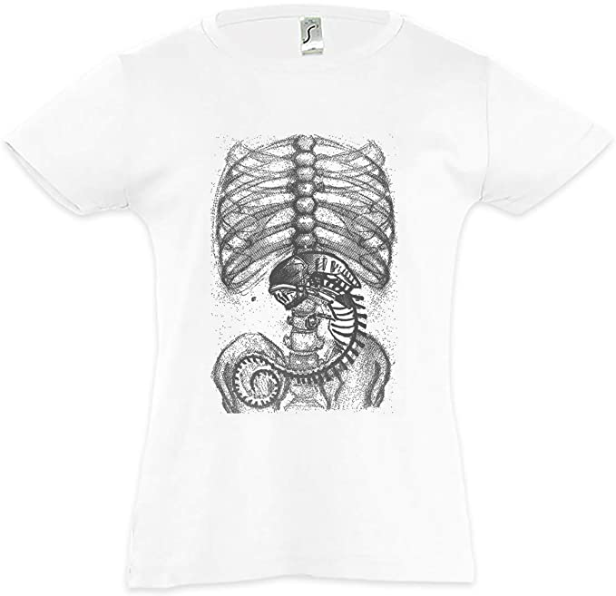 Xenomorph Alien II Camiseta para Niñas Chicas niños T-Shirt Ripley Prometheus Nostromo Weyland Movie Film Fan Saga Face Hugger Yutani: Amazon.es: Ropa y ...
