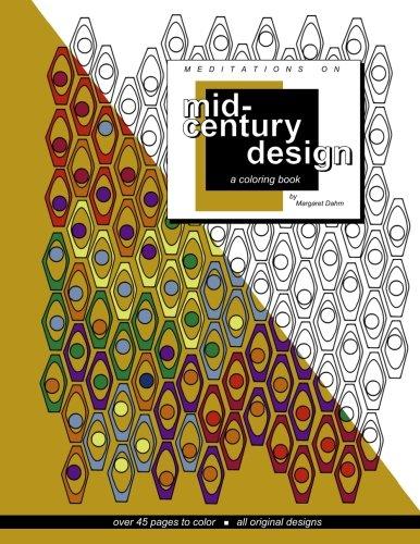 Meditations on Mid-century Design: A coloring book 61Qm66U2Z4L