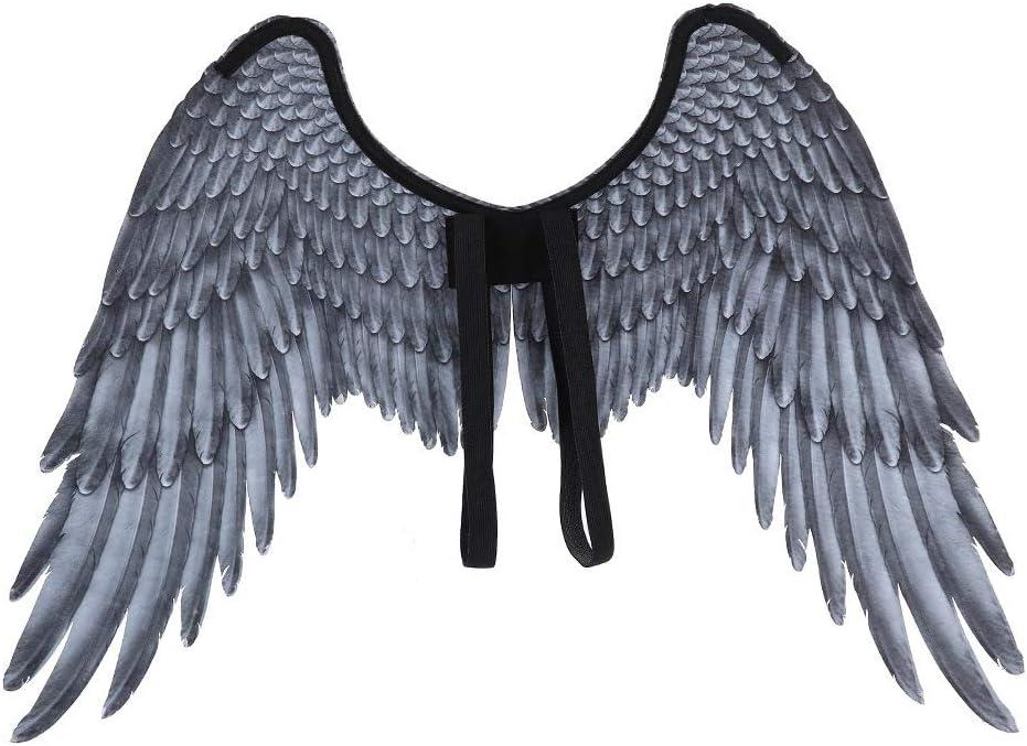Alas de ángel de Halloween, carnaval, Mardi Gras, unisex, 3D ...