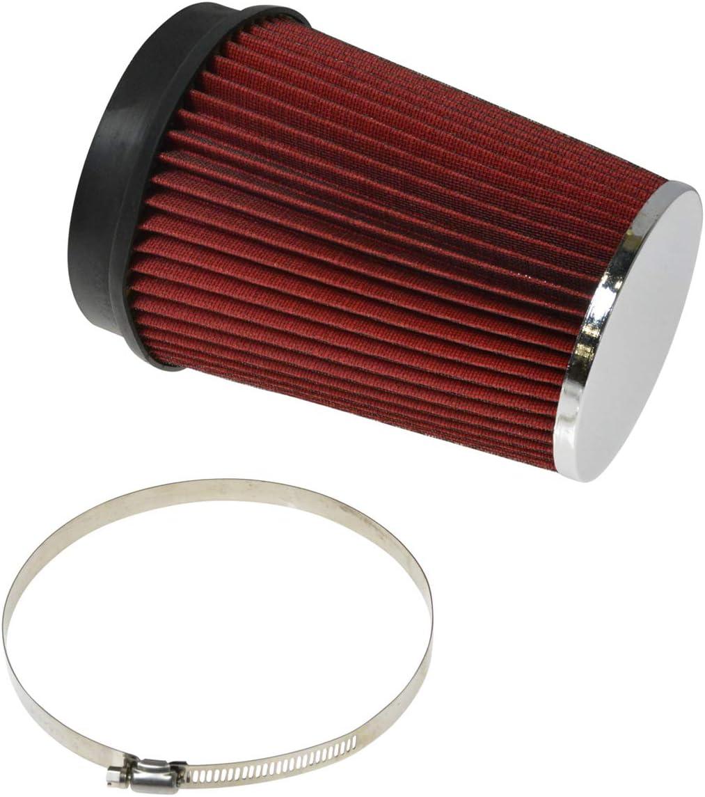 1A Auto Performance Cold Air Intake CAI w Red Air Filter for Silverado Sierra Tahoe V8