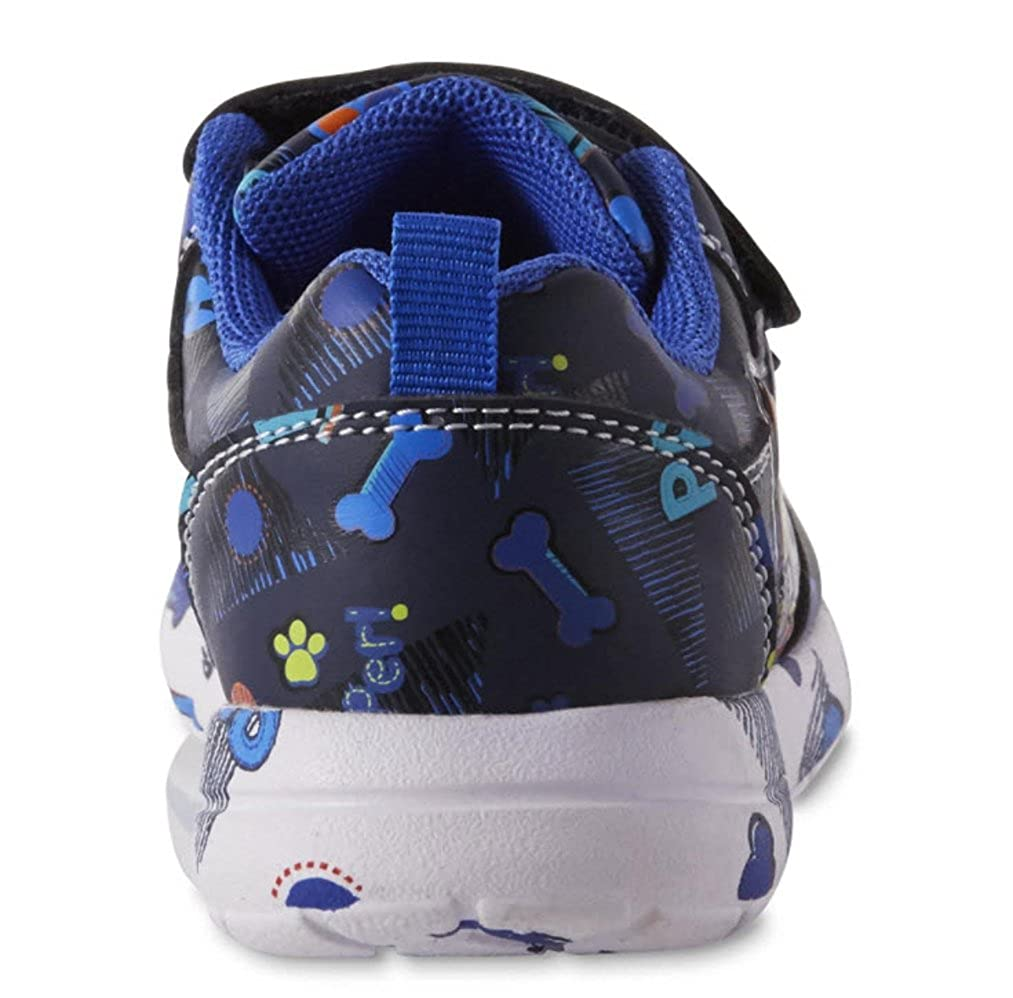 Paw Patroll Nickelodeon Toddler Boys Blue Light Up Athletic Shoes
