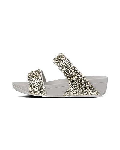 83f1f63aa Fitflop Women s Glitterball Slide Open Toe Sandals
