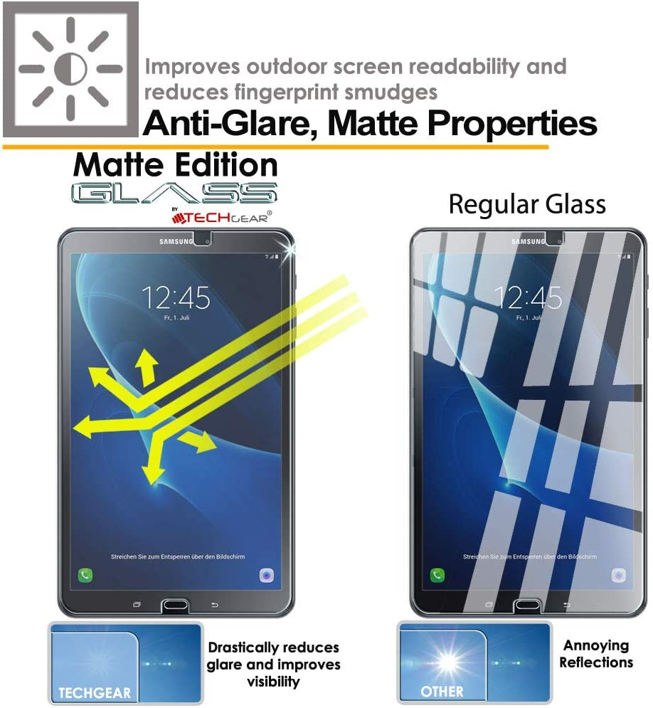 TECHGEAR Antirreflejo Protector de Pantalla Compatible con Samsung ...
