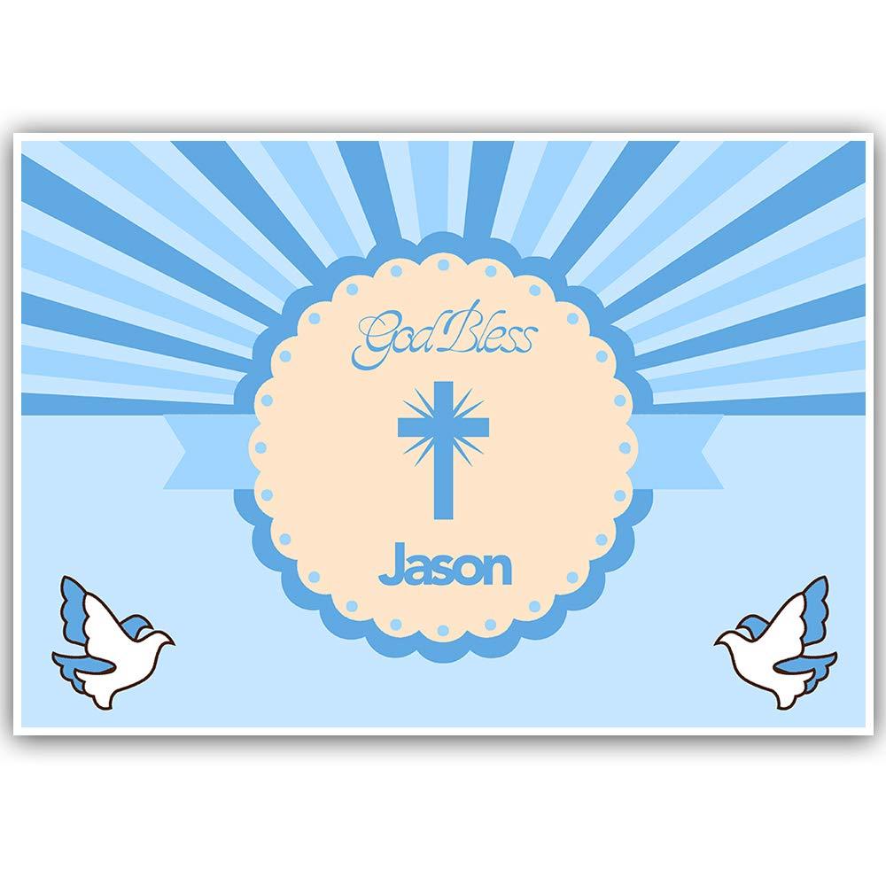 Baptism Banner Personalized Decoration Backdrop