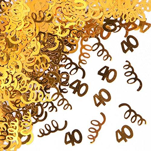 40th Birthday Confetti - 1