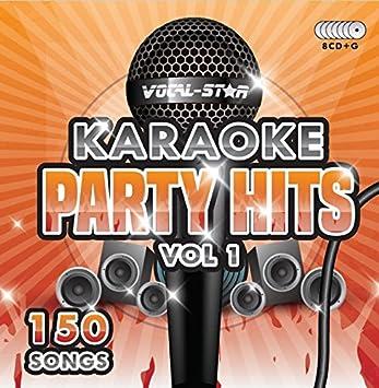 karaoke party hits cdg cd g disc set 150 songs on 8 discs